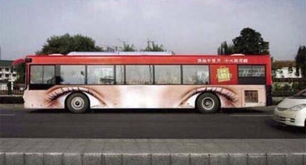 Έξυπνες και δημιουργικές διαφημίσεις σε λεωφορεία (6)