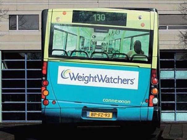 Έξυπνες και δημιουργικές διαφημίσεις σε λεωφορεία (8)
