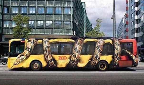 Έξυπνες και δημιουργικές διαφημίσεις σε λεωφορεία (9)