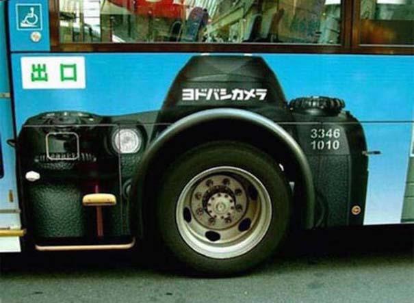 Έξυπνες και δημιουργικές διαφημίσεις σε λεωφορεία (10)