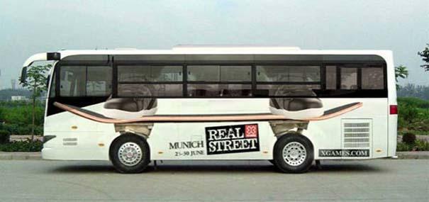 Έξυπνες και δημιουργικές διαφημίσεις σε λεωφορεία (16)