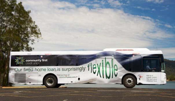 Έξυπνες και δημιουργικές διαφημίσεις σε λεωφορεία (17)