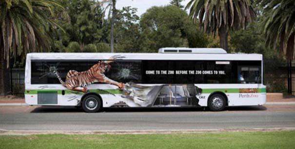 Έξυπνες και δημιουργικές διαφημίσεις σε λεωφορεία (18)