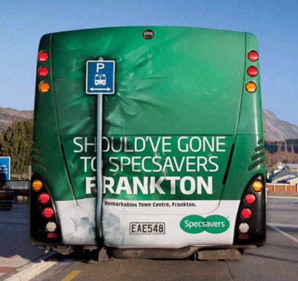 Έξυπνες και δημιουργικές διαφημίσεις σε λεωφορεία (19)