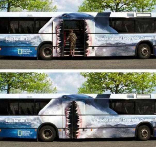 Έξυπνες και δημιουργικές διαφημίσεις σε λεωφορεία (21)