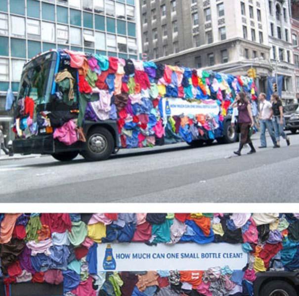 Έξυπνες και δημιουργικές διαφημίσεις σε λεωφορεία (23)