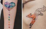 Γεωμετρικά τατουάζ από τον Jasper Andres (1)