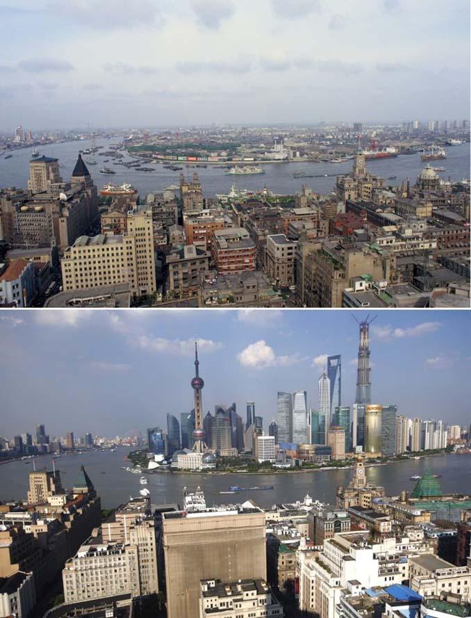 Μερικές από τις πιο γνωστές πόλεις τότε και τώρα (1)