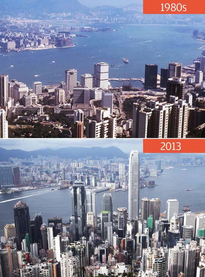 Μερικές από τις πιο γνωστές πόλεις τότε και τώρα (3)