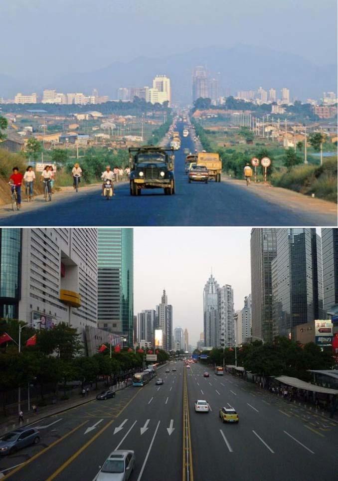 Μερικές από τις πιο γνωστές πόλεις τότε και τώρα (4)