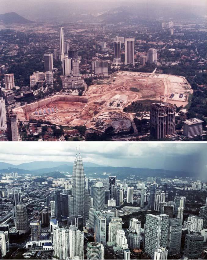 Μερικές από τις πιο γνωστές πόλεις τότε και τώρα (7)