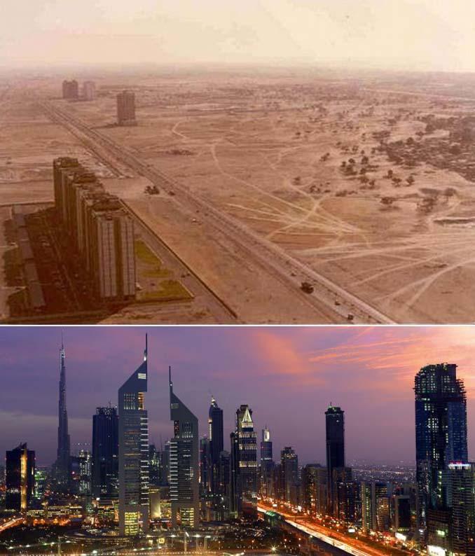 Μερικές από τις πιο γνωστές πόλεις τότε και τώρα (10)