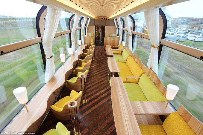 Το εκπληκτικό «γυάλινο» τρένο της Ιαπωνίας που προσφέρει μοναδική θέα (1)