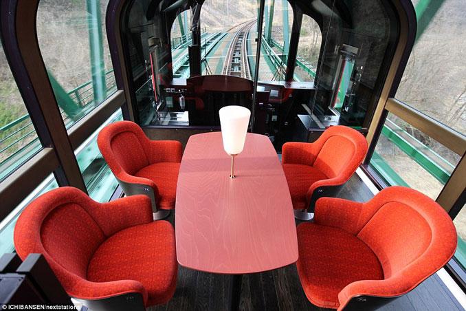 Το εκπληκτικό «γυάλινο» τρένο της Ιαπωνίας που προσφέρει μοναδική θέα (2)