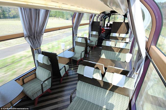 Το εκπληκτικό «γυάλινο» τρένο της Ιαπωνίας που προσφέρει μοναδική θέα (7)