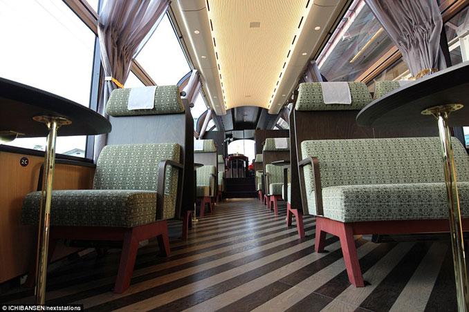 Το εκπληκτικό «γυάλινο» τρένο της Ιαπωνίας που προσφέρει μοναδική θέα (9)