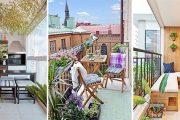 40+1 ιδέες για ένα υπέροχο μπαλκόνι