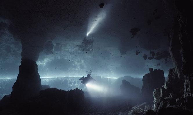 Κατάδυση σε σπήλαιο μοιάζει με εξερεύνηση ενός Κάτω Κόσμου