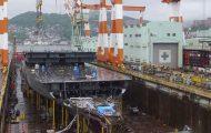 Δείτε την κατασκευή ενός κρουαζιερόπλοιου μέσα από ένα εκπληκτικό βίντεο
