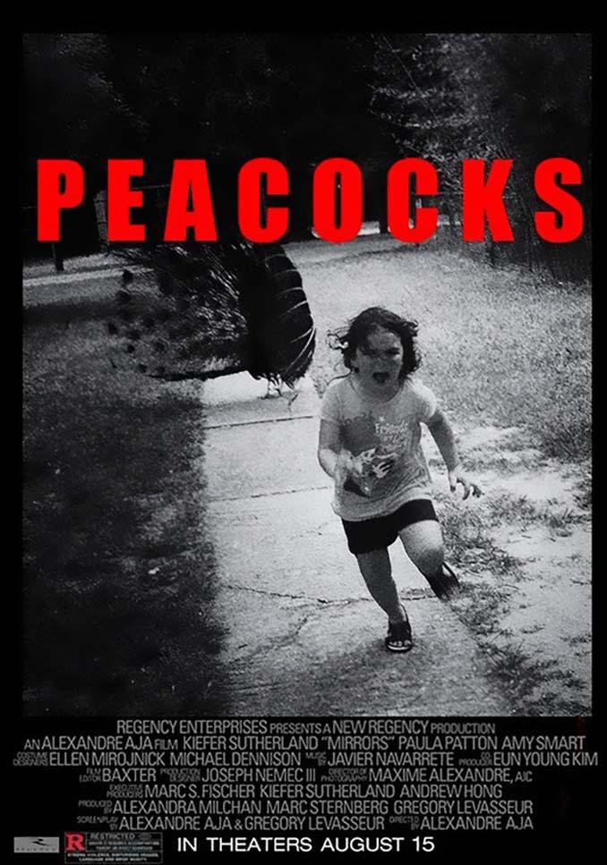 Κοριτσάκι τρέχει να γλυτώσει από παγόνι και οι ειδικοί του Photoshop αναλαμβάνουν δράση (10)