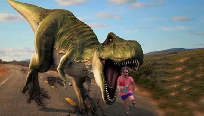 Κοριτσάκι τρέχει να γλυτώσει από παγόνι και οι ειδικοί του Photoshop αναλαμβάνουν δράση (16)