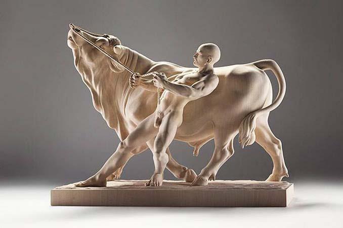 Ξύλινη άγρια ζωή: Τα όμορφα γλυπτά του Giuseppe Rumerio (1)