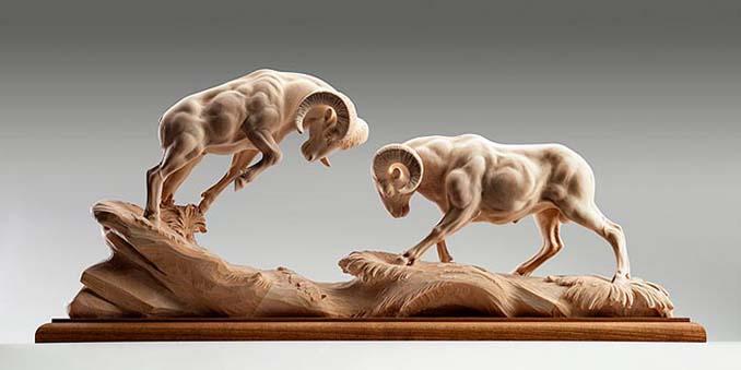Ξύλινη άγρια ζωή: Τα όμορφα γλυπτά του Giuseppe Rumerio (5)