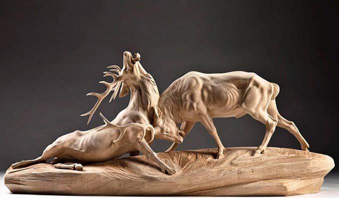 Ξύλινη άγρια ζωή: Τα όμορφα γλυπτά του Giuseppe Rumerio (8)