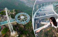 Η μεγαλύτερη γυάλινη πλατφόρμα στον κόσμο