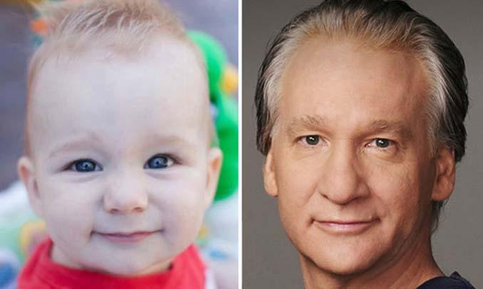 15 μωρά που έχουν εκπληκτική ομοιότητα με διάσημα πρόσωπα (1)