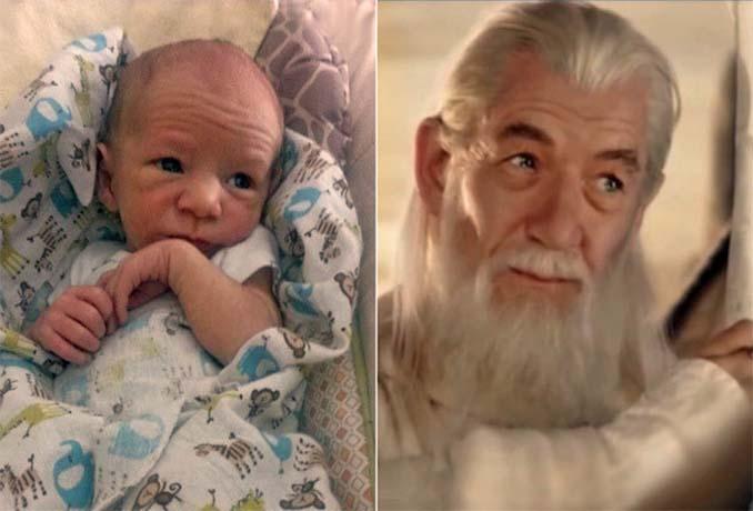 15 μωρά που έχουν εκπληκτική ομοιότητα με διάσημα πρόσωπα (5)