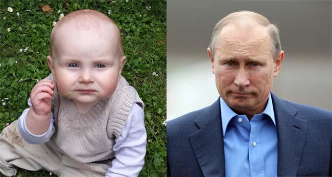 15 μωρά που έχουν εκπληκτική ομοιότητα με διάσημα πρόσωπα (8)