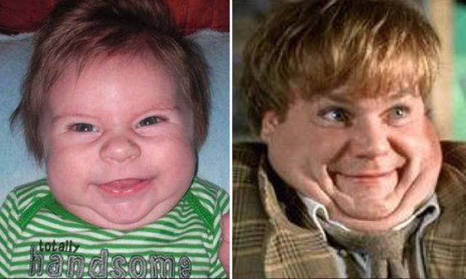 15 μωρά που έχουν εκπληκτική ομοιότητα με διάσημα πρόσωπα (11)