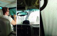 Να τι συμβαίνει αν ξεχάσεις ανοιχτή την ηλιοροφή στο πλυντήριο αυτοκινήτων