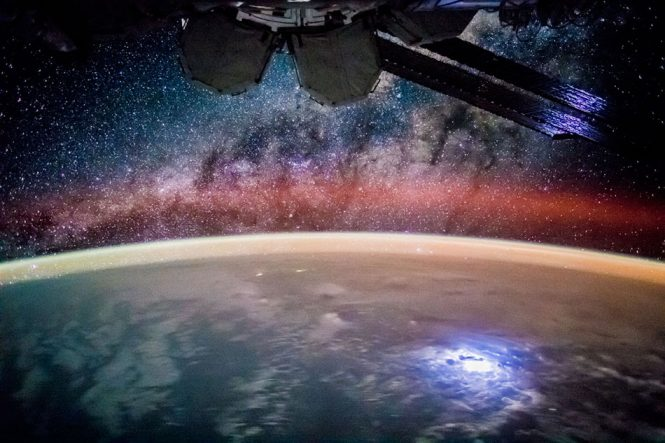 Κοιτάζοντας τα άστρα από τον Διεθνή Διαστημικό Σταθμό | Φωτογραφία της ημέρας
