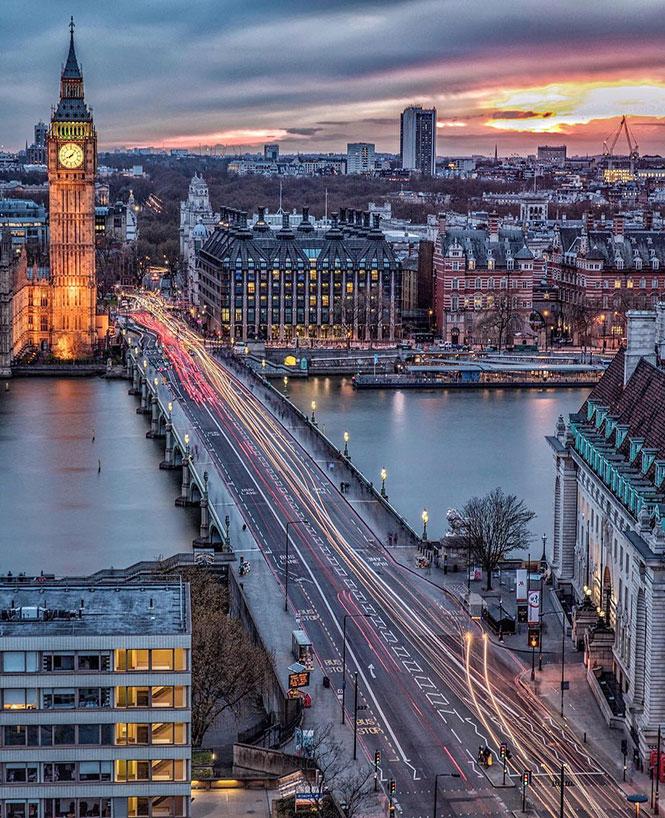 Απόγευμα στο Λονδίνο   Φωτογραφία της ημέρας