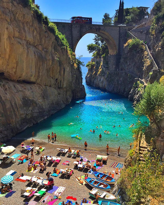 Fiordo di Furore, Ιταλία | Φωτογραφία της ημέρας