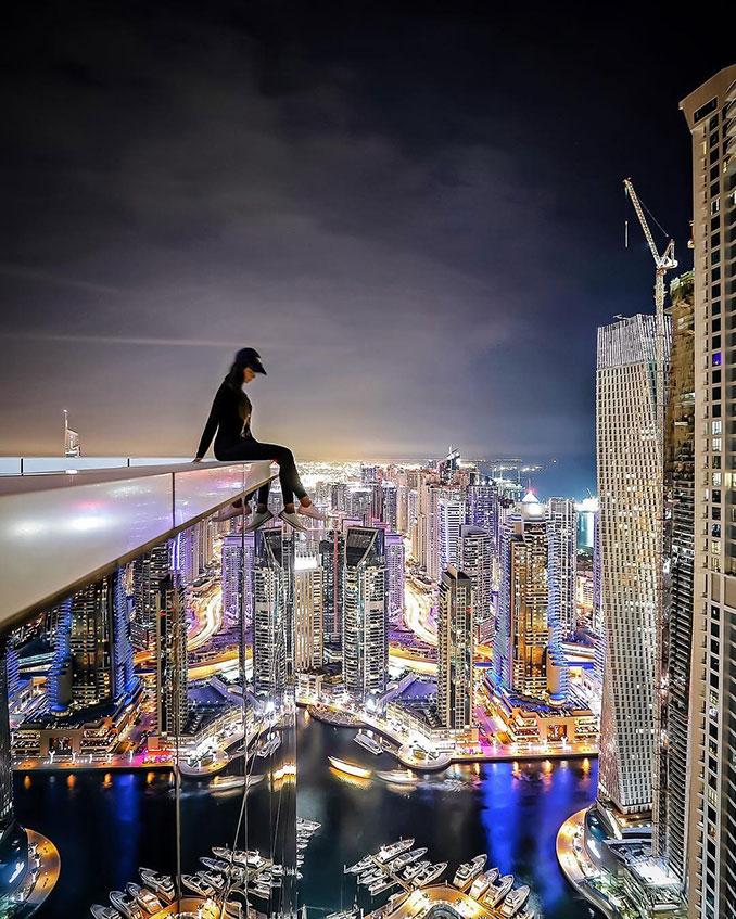 Αναζητώντας την περιπέτεια στους ουρανοξύστες του Dubai | Φωτογραφία της ημέρας