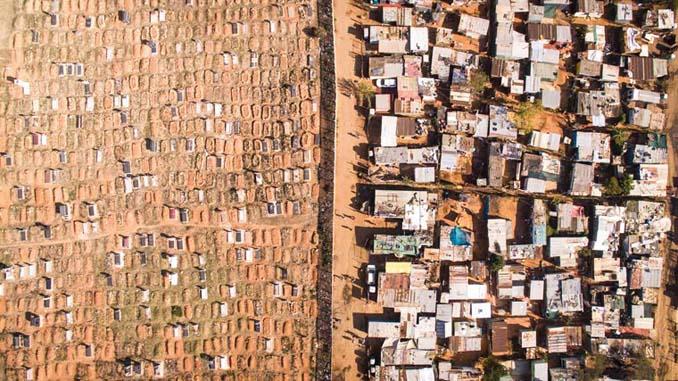 Πλούσιοι και φτωχοί: Καταγράφοντας τις αντιθέσεις με ένα drone (1)