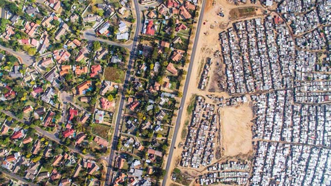 Πλούσιοι και φτωχοί: Καταγράφοντας τις αντιθέσεις με ένα drone (2)