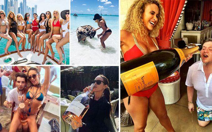 Τα πλουσιόπαιδα του Instagram γιορτάζουν το καλοκαίρι τους (1)