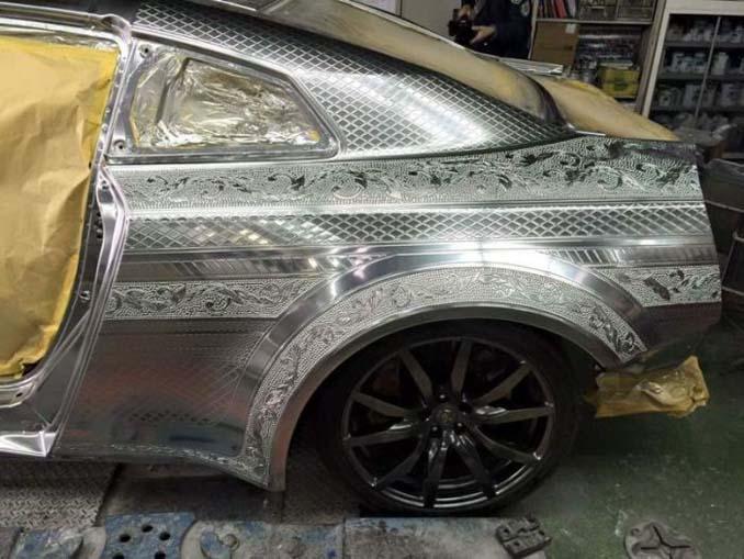 Σκαλιστό Nissan GT-R (5)