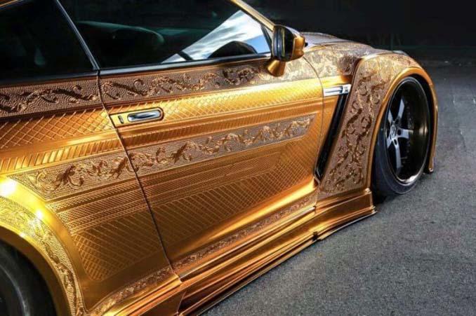 Σκαλιστό Nissan GT-R (10)