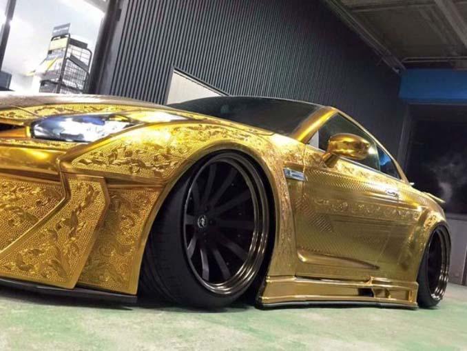 Σκαλιστό Nissan GT-R (16)