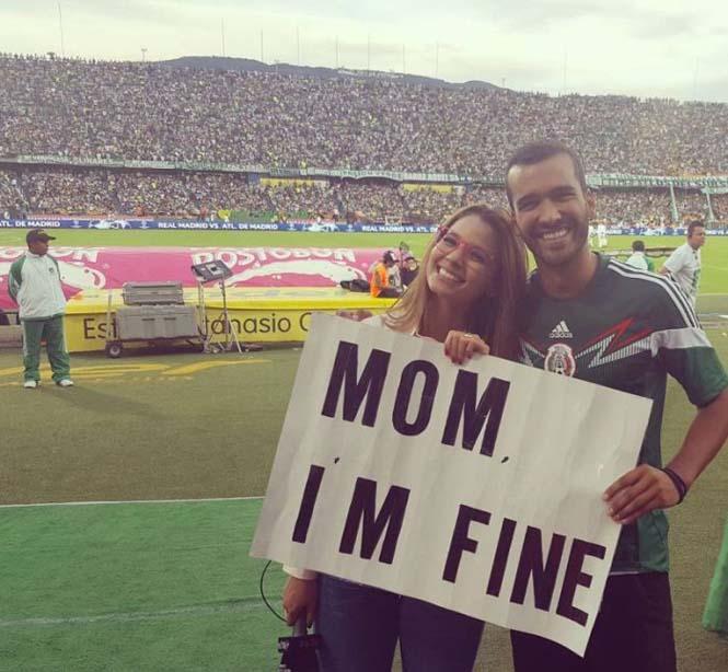 Χρήστης του Instagram γυρίζει τον κόσμο με το μήνυμα «Μαμά είμαι καλά» (12)