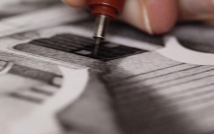 1.000.000 κουκκίδες συνθέτουν ένα εντυπωσιακό έργο τέχνης