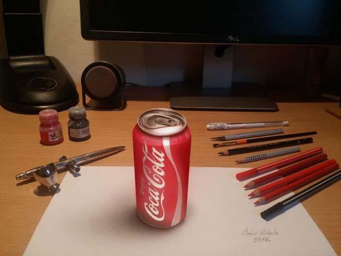 Απίστευτα 3D σκίτσα που μπερδεύουν το μυαλό (4)