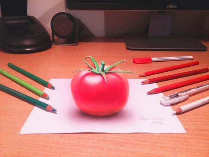 Απίστευτα 3D σκίτσα που μπερδεύουν το μυαλό (6)