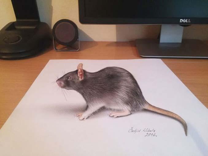 Απίστευτα 3D σκίτσα που μπερδεύουν το μυαλό (10)