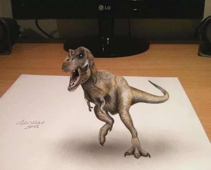 Απίστευτα 3D σκίτσα που μπερδεύουν το μυαλό (12)